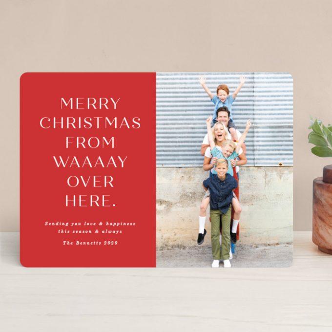 quarantine holiday cards