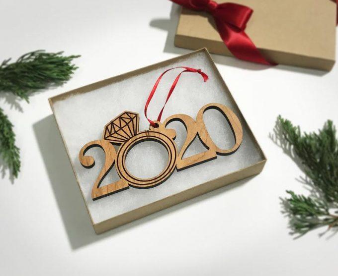 engagement ornament 2020