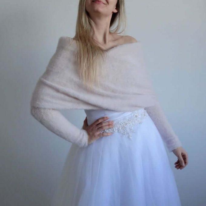 wedding wrap sweater