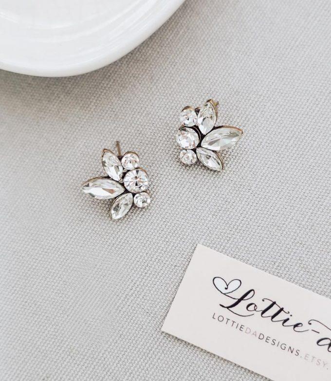 bridesmaid earrings for $25