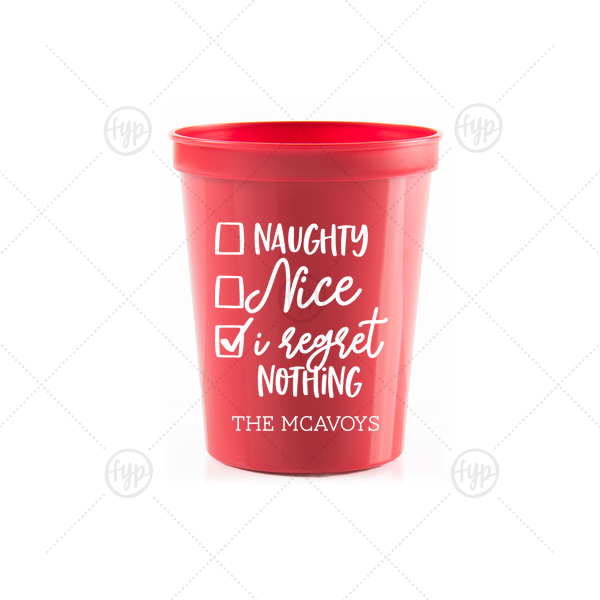 christmas party cup