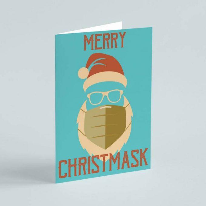 covid christmas cards