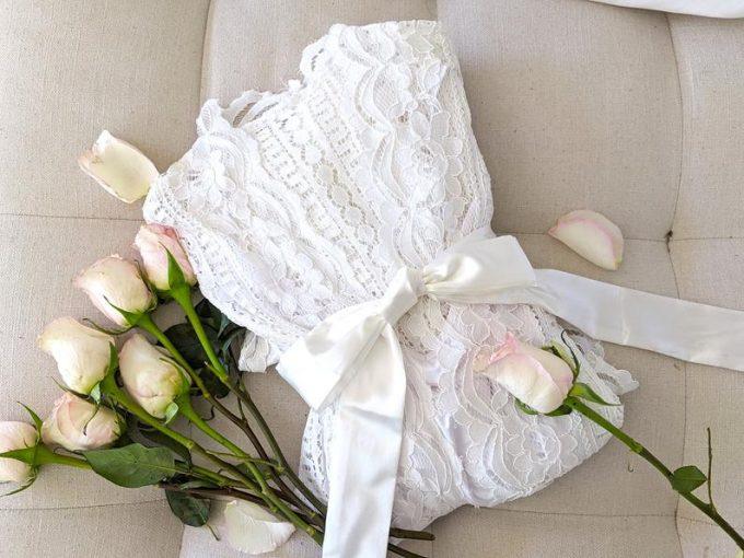 bridal maxi robe