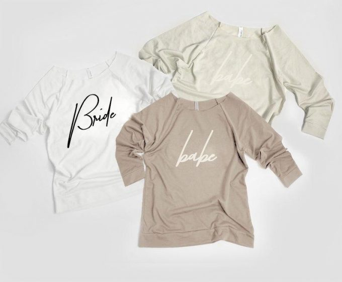 bride and babe t shirts