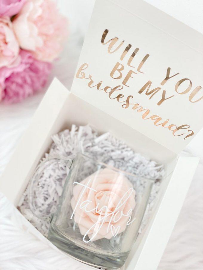 non-alcohol bridesmaid gifts