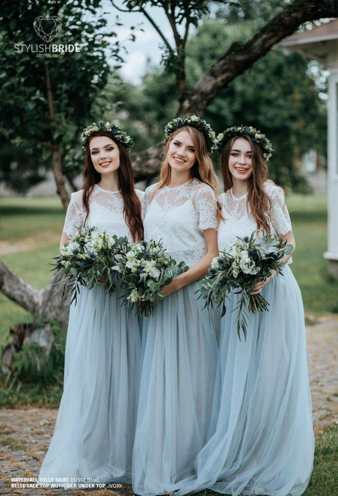 bridesmaid dress separates