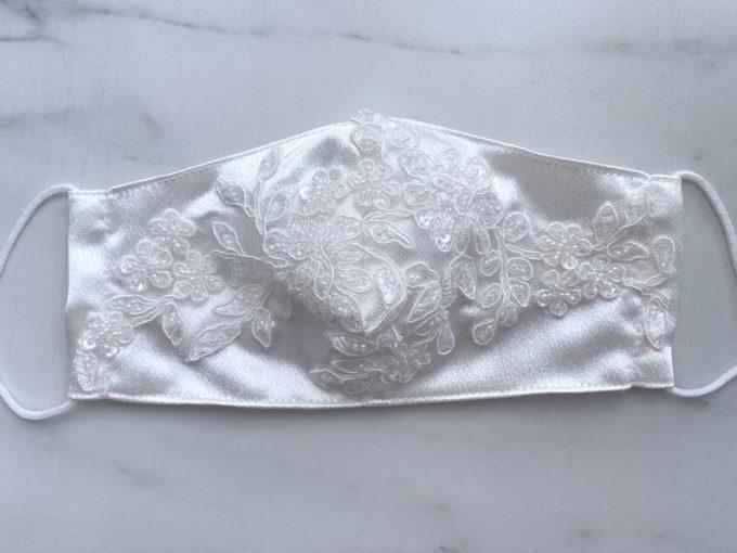 wedding face masks for brides