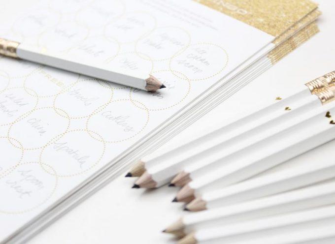 mini wedding pencils