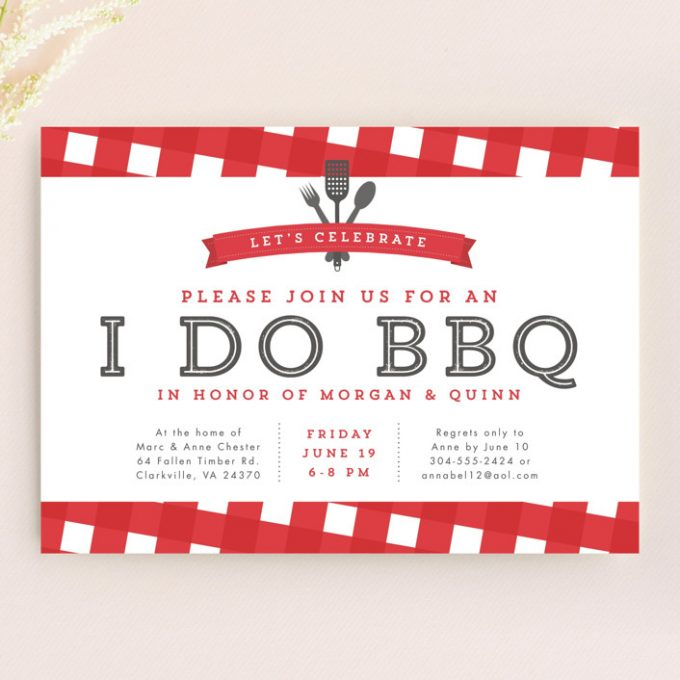 bbq wedding ideas