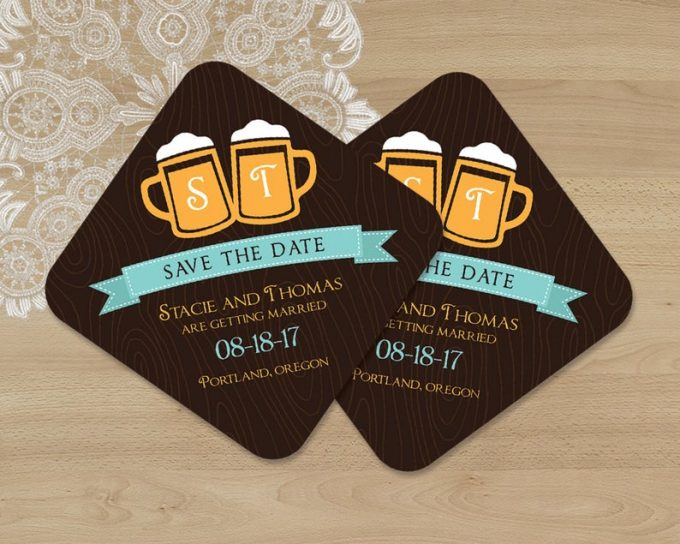 beer themed wedding