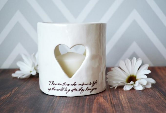 memorial candle for wedding
