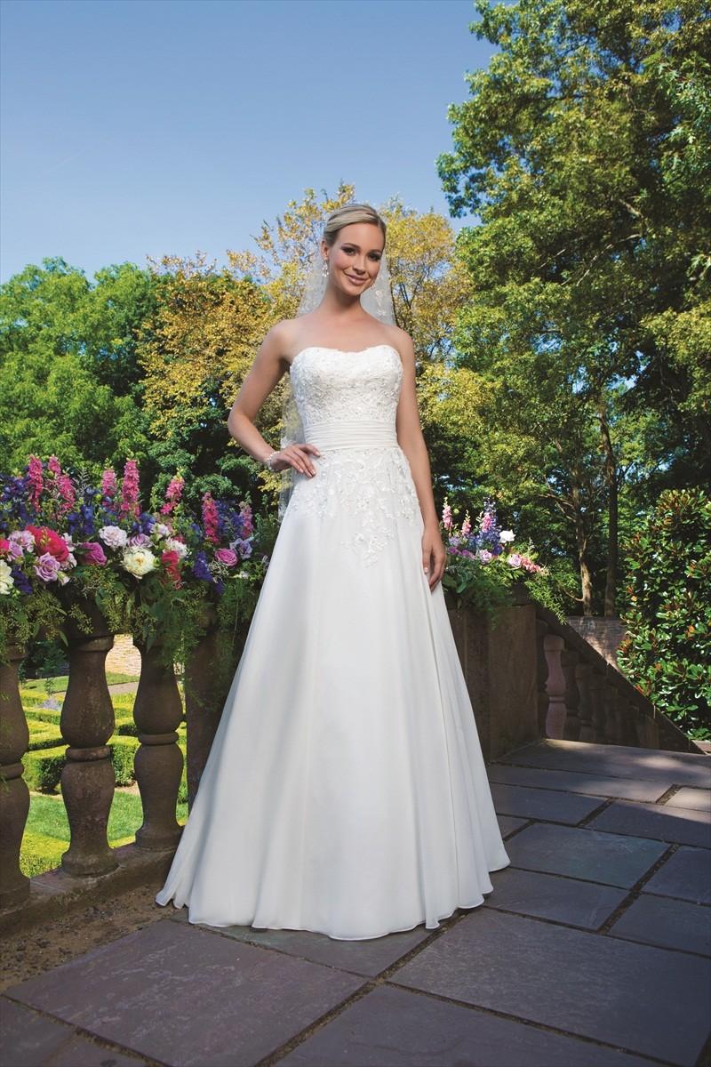 wedding gown by Sincerity Bridal