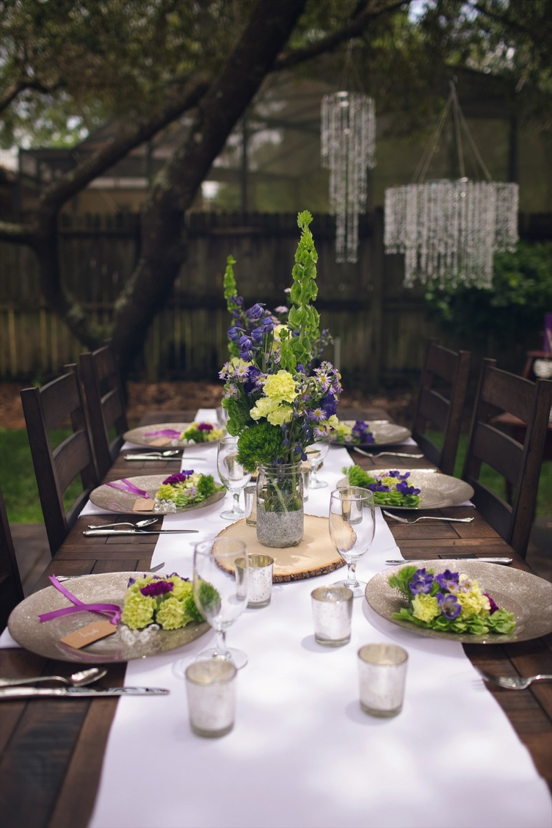 Rustic Glam Bridal Shower | styled: adore amor event planning, photo: little blue bird photography | http://emmalinebride.com/shower/rustic-glam-bridal-shower/