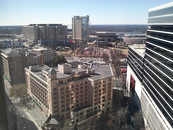 View of Atlanta - Bridal Extravaganza of Atlanta - EmmalineBride.com