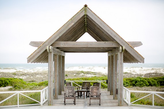 Beach Wedding Ceremony Spot - Photo by Eric Boneske
