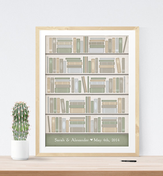 Book Themed Wedding Guest Book Print | 21 Unique Themed Guest Book Alternatives via http://emmalinebride.com/reception/themed-guest-book-alternatives/