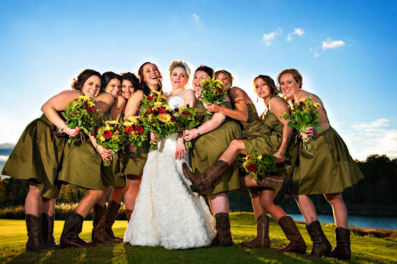 Fall Michigan wedding