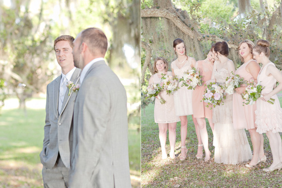 Kali Norton Photography - Mandeville Spring Wedding - groomsmen and bridesmaids