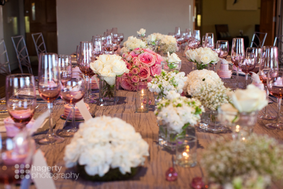 Hagerty Photography - modern pink wedding