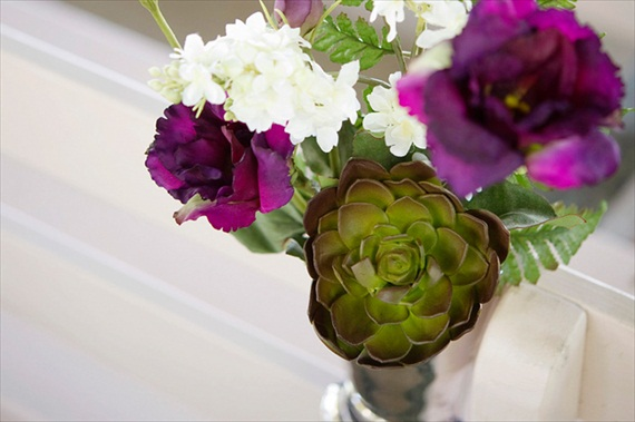 2013 Wedding Trends: Succulents and Birch Bark (by Afloral via Emmaline Bride)