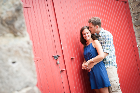 Scott Smith Photography - red barn in Pennsylvania engagement session