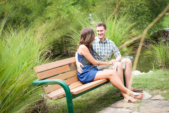 Scott Smith Photography - manor house engagement session - couple-sitting-on-bench