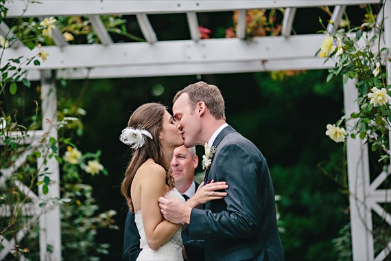K. Holly Photography - saugatuck garden wedding