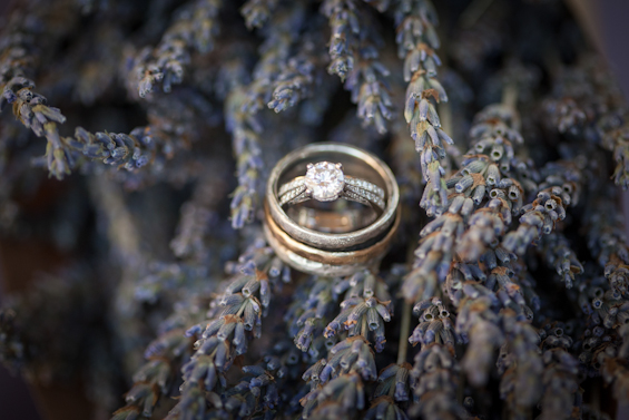 Johnstone Studios - thunderbird lodge wedding - wedding rings and lavender