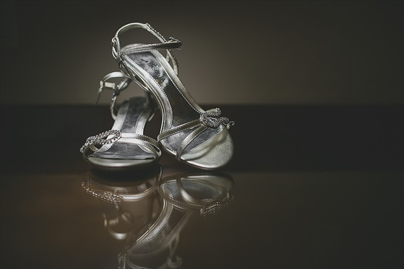 Matthew Steed Wilson Photography - bride's wedding shoes - scrabble themed wedding