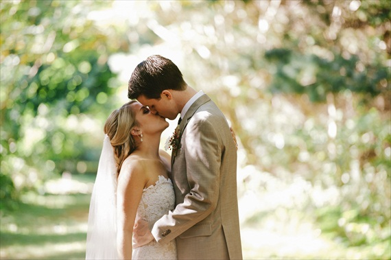 first look - maggie + stephen (photography by Michelle Gardella Photography)