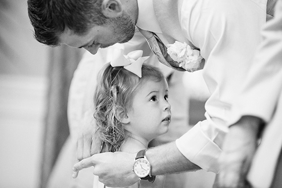 Tate Tullier Photography - Baton Rouge Wedding - groom-with-flower-girl