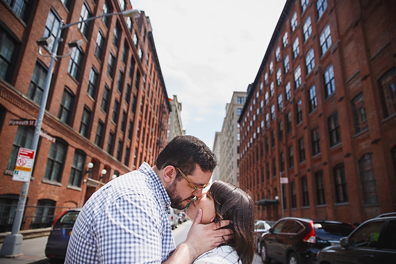 Butler Photography, LLC - Brooklyn Bridge Park engagement photos