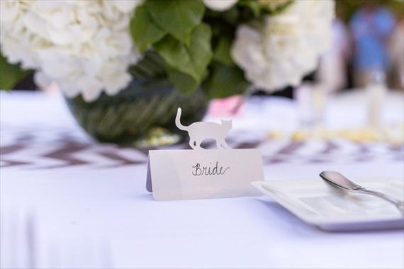 Filda Konec Photography - Hemingway House Wedding - bride seat card