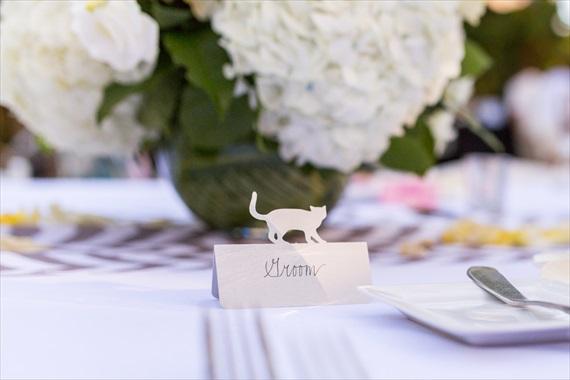 Filda Konec Photography - Hemingway House Wedding - groom seat card