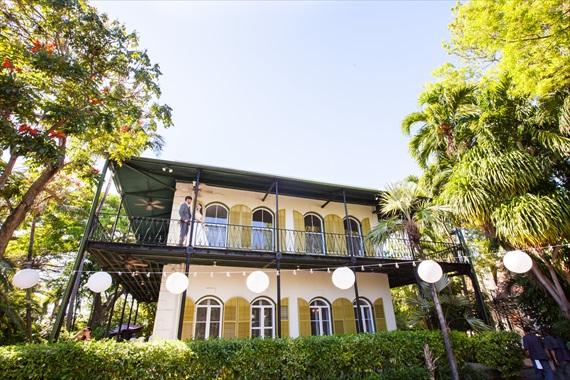 Filda Konec Photography - Hemingway House Wedding in key west