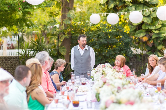 Filda Konec Photography - father of the bride gives toast at wedding