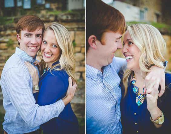 Lissa Chandler Photography - Downtown Arkansas Engagement