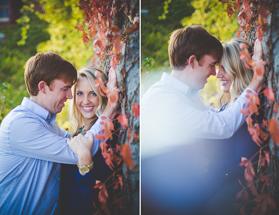 Lissa Chandler Photography - Downtown Arkansas Engagement