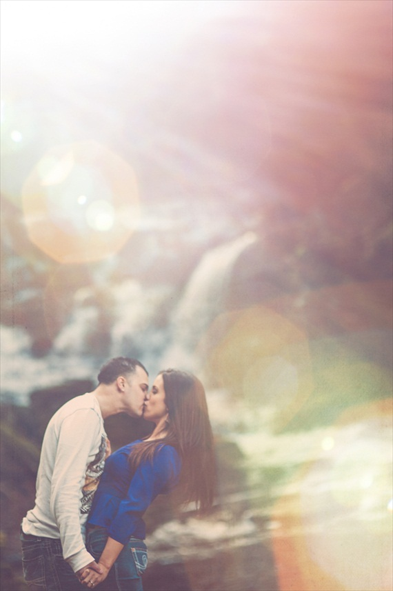sonoma falls engagement photos - stripling photography