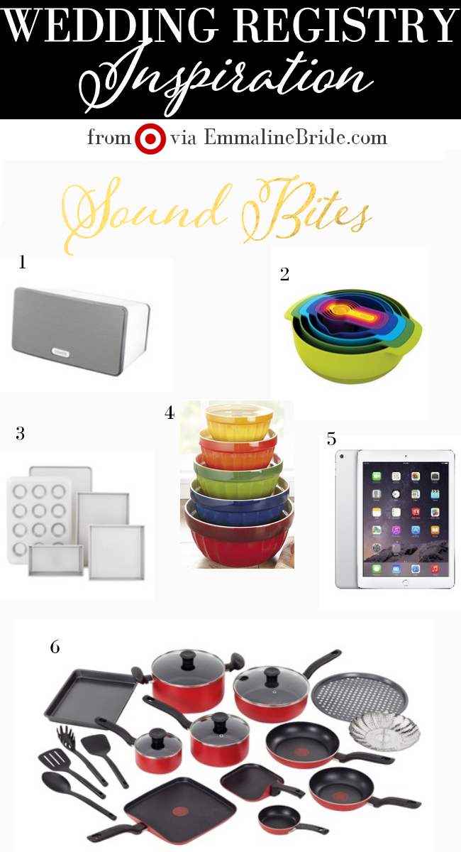 Sound Bites Themed Registry Must-Haves from Target