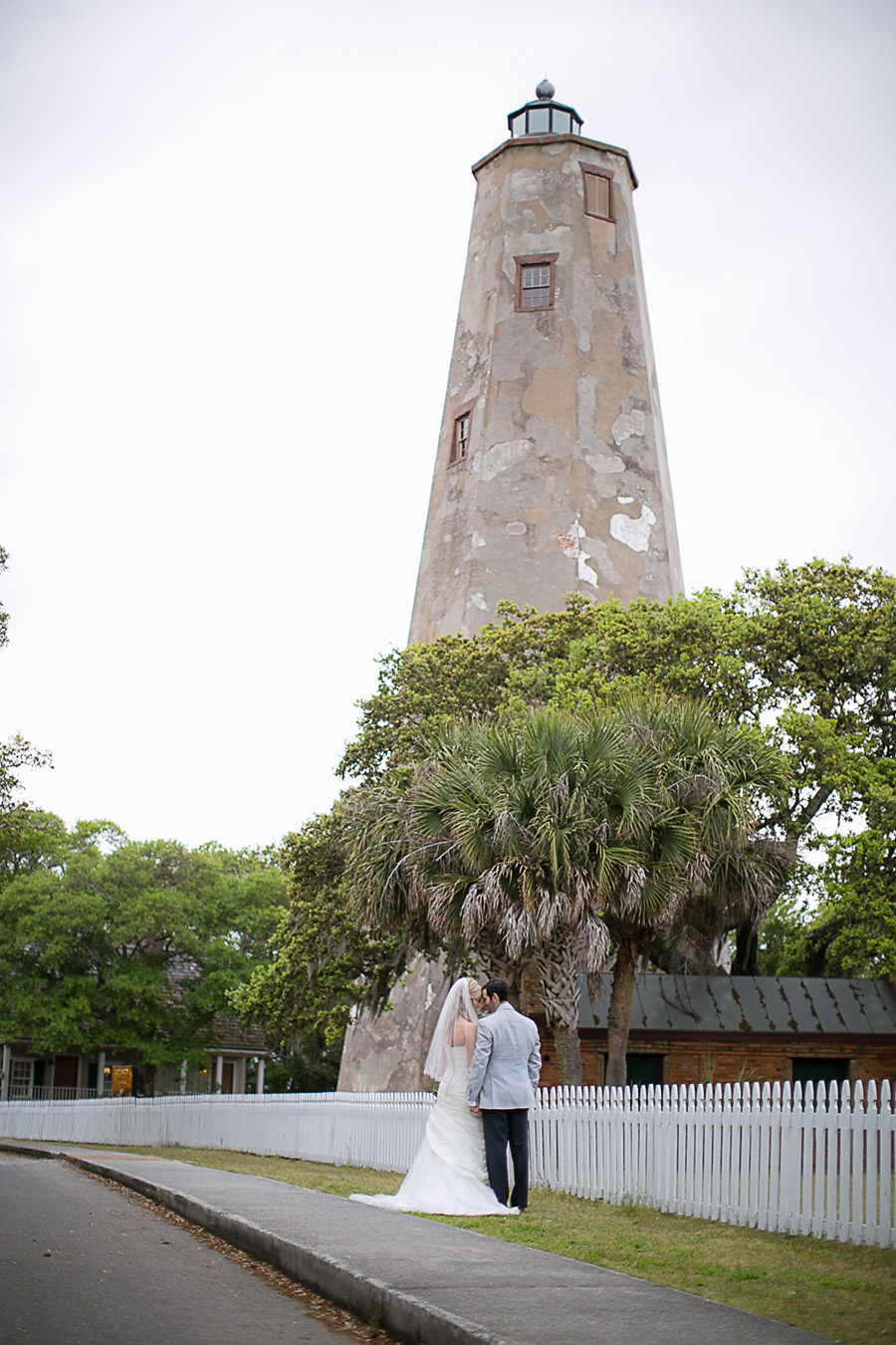 The Bride and Groom - Portraits - 1 - Bald Head Island Wedding - Photo by Eric Boneske