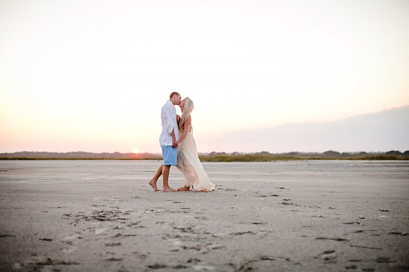 Topsail Island Engagement Pictures-16