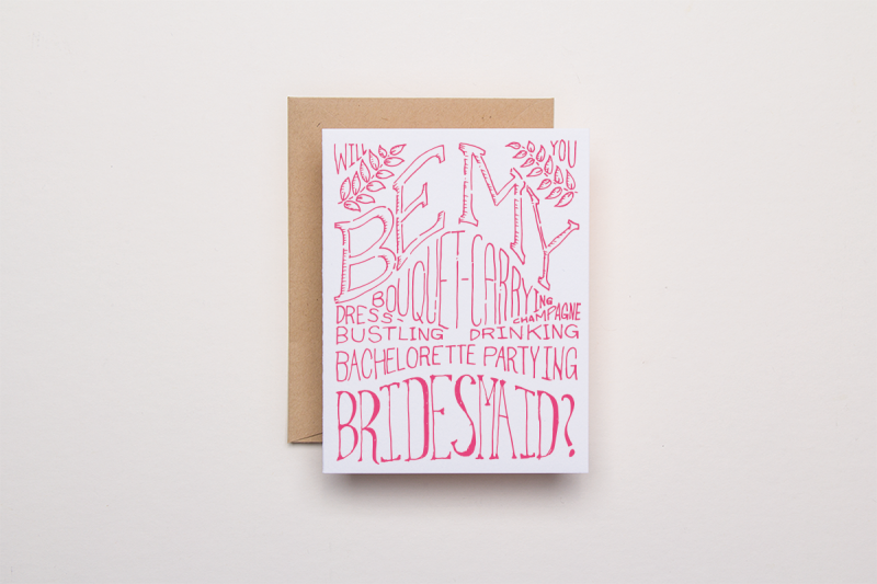 Wedding Party Cards