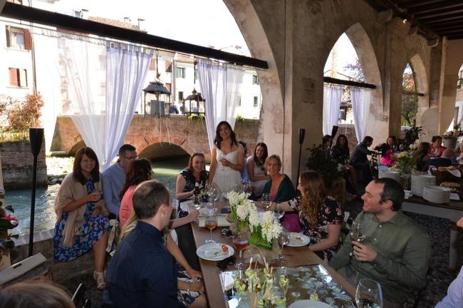 wedding reception at the Palazzo Rinaldi| Planner: Venice Events | via http://emmalinebride.com/real-weddings/spring-wedding-in-italy-andre-shona/