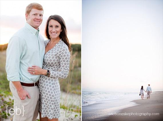 Eric Boneske Photography - Wilmington Beach Engagement Session