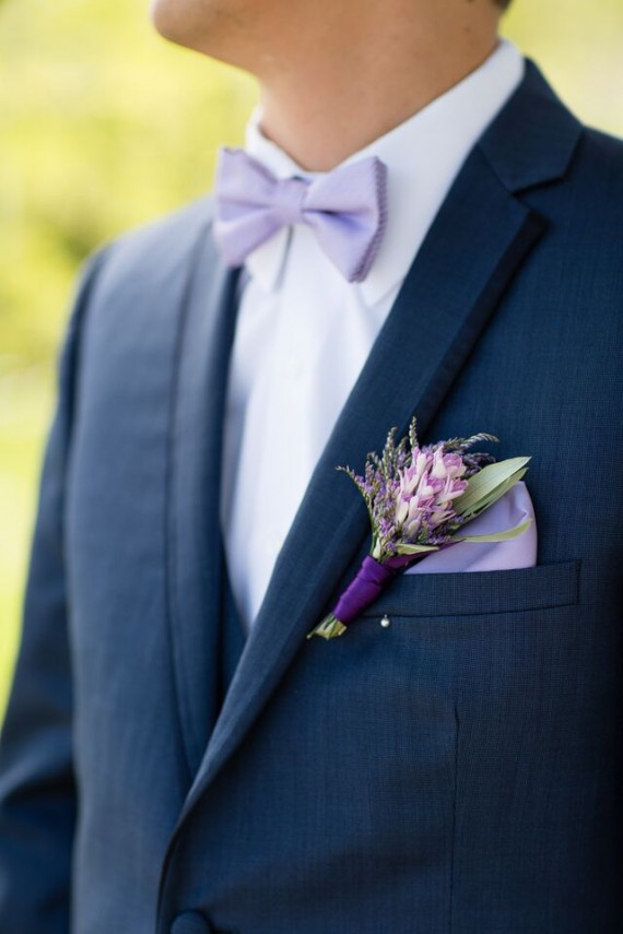 Winery Styled Wedding Shoot - The Groom's Boutonniere