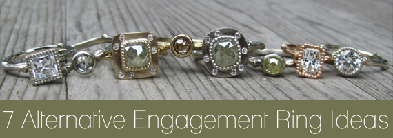 7 Alternative Engagement Ring Ideas