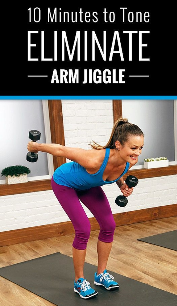 wedding workout tips:  try this routine to get rid of arm jiggle.