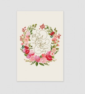 at last my love has come along quote | #wedding Wedding Poster Ideas for (Easy!) Decor
