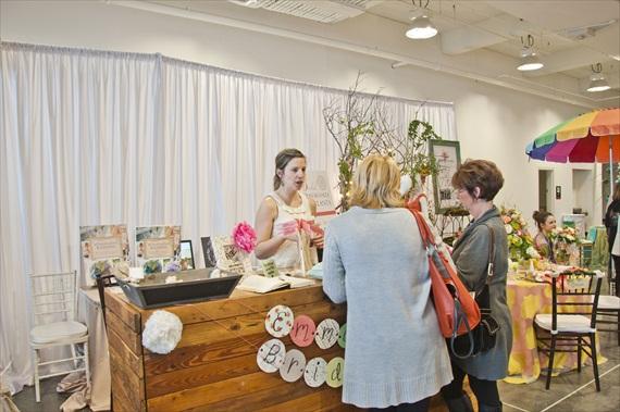 Emmaline Bride at Bridal Extravaganza of Atlanta - EmmalineBride.com
